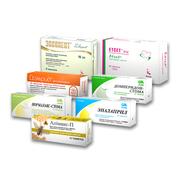 Картонная упаковка Киев для лекарств со шрифтом Брайля